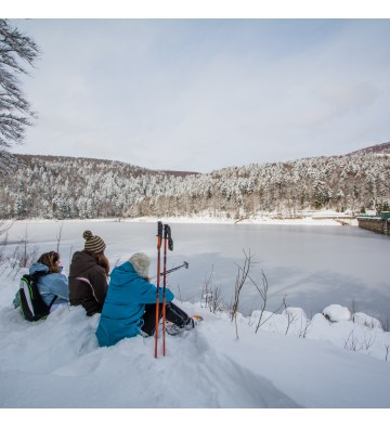Sortie raquettes à neige du lac Noir  au lac du Forlet   sur demande