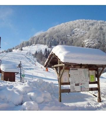 Sortie en raquettes à neige à Larcenaire