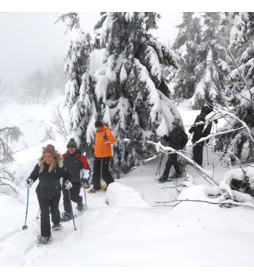 Balade le Jour de l'An au Lac Blanc dans les Vosges