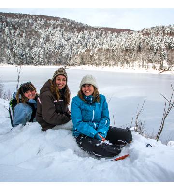 Fêter Nouvel An en pleine Nature au Lac Blanc