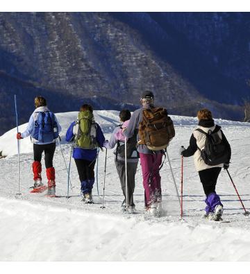Balade en raquettes à neige au Feldberg !