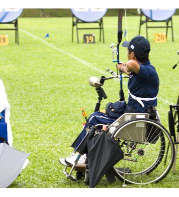 Tir à l'arc pour les personnes à mobilité réduite !