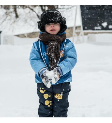Balade en raquettes à neige pour les lutins !
