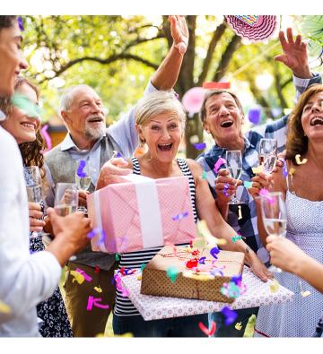 Venez fêter votre anniversaire avec nous !