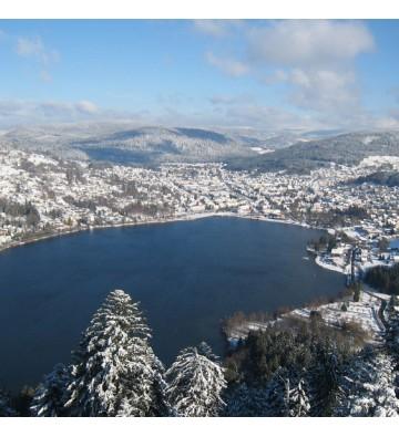Sortie Raquettes à neige Tour des deux lacs d'origine glacière !