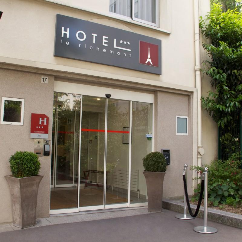 Pension compl te demi pension h tel paris for Hotel demi pension